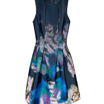 Cynthia Rowley -  Seamed Waist Dress | Neoprene Style Dress by Cynthia Rowley
