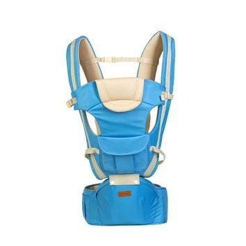 Breathable Multifunctional Front Facing Baby Carrier with baby hip seat Infant Comfortable Sling Backpack up carrier ndependent