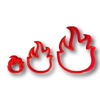 Fire Flame Cookie Cutter