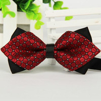 1 PCS/lot 48 Color Fashion High quality bow tie men bowtie women ties
