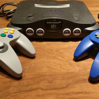 Nintendo 64 n64 game console system  bundle 2 controllers  gaming