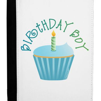 Birthday Boy - Candle Cupcake Ipad Mini Fold Stand  Case by TooLoud