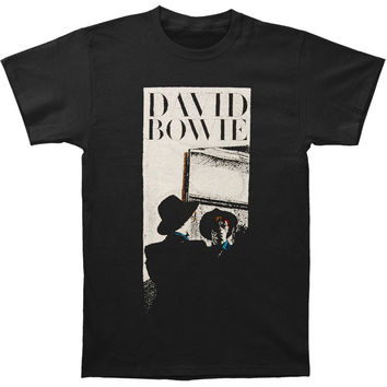 David Bowie Men's  Reflect T-shirt Black Rockabilia