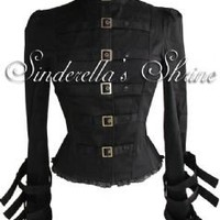 Spin Doctor Foggy Steampunk Corset Jacket