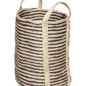 DHARMA DOOR~jute decorative basket BLOWOUT SALE