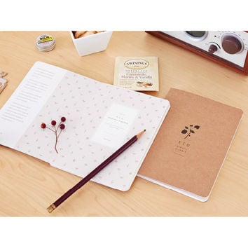 2015 Ardium Eco kraft monthly planner scheduler
