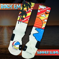Summer Slam Custom Nike Elite Socks | Rock 'Em Apparel