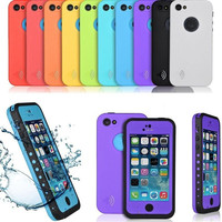 Iphone 5C Fashion Waterproof Shockproof Dirt Snow Proof Durable Case Cover