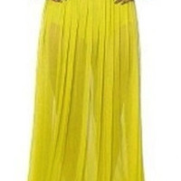 Vanity Maxi Skirt-Yellow