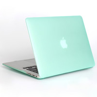 NEW Fashion Matte Case Cover For Apple macbook Air Pro Retina 11 12 13 15 laptop case For Mac book air 13.3 inch case