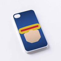 face Cyclops X-Men iPhone 4/4S, 5/5S, 5C,6,6plus,and Samsung s3,s4,s5,s6