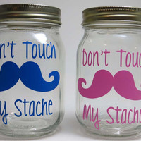 Mustache Piggy Bank, Savings Jar, My Stache