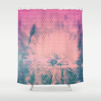 GeoDandy Shower Curtain by DuckyB (Brandi)