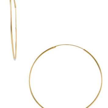 Argento Vivo Endless Extra Large Hoop Earrings | Nordstrom