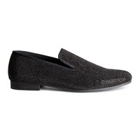 H&M - Loafers - Black - Men