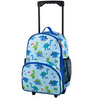 Olive Kids Dinosaur Land Rolling Luggage - 85408