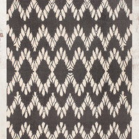 Chevron 5x7 Rug in Grey - Urban Outfitters