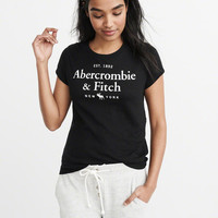 Womens Logo Tee | Womens Need It Now Sale | Abercrombie.com