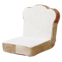 Plush Sliced Bread Zaisu (Floor Chair)
