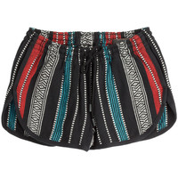 Rag & Bone - Tribal Print Cotton Shorts