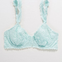Happy Unlined Demi Coverage Bra, Mint