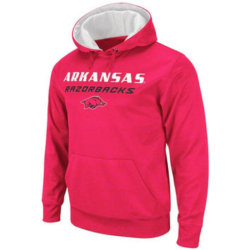 Arkansas Razorbacks Cardinal Bootleg Hooded Sweatshirt