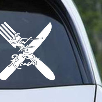 Hannibal Eat the Rude Die Cut Vinyl Decal Sticker