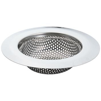 Stainless Steel Sink Strainer Shower Floor Drain Bathroom Plug Trap Hair Catcher Kitchen Sink Filter Floor Cover Basin ZH01030