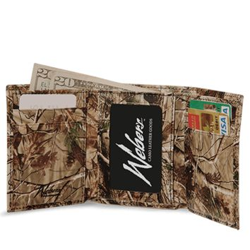 REALTREE AP™ CAMO Leather Tri - Fold Wallet