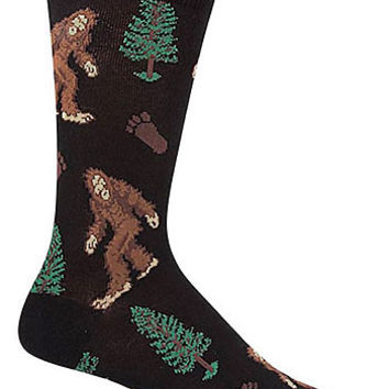 Men's Stumbled Upon Bigfoot Crew Socks