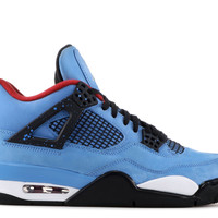"Air Jordan 4 Retro ""cactus Jack"" - Air Jordan - 308497 406 - university blue/black 