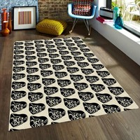 Darth Vader Rug - Star wars Rugs - Nursery Area Rugs - Rugs for Kids