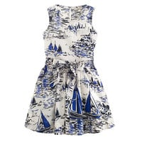 Girls' sailboat sundress - AllProducts - sale - J.Crew