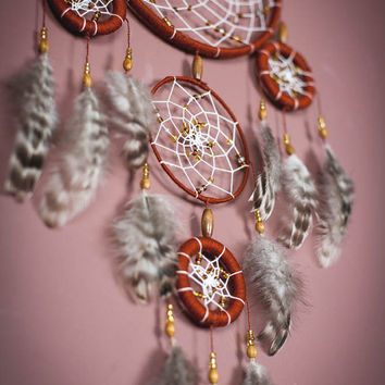 Feathers Bohemian Dreamcatcher, Bohemian Dream Catcher,Wall Hanging Dreamcatcher.dream catcher wall hanging.wall hanging dreamcatcher