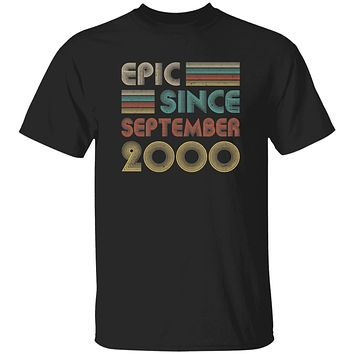 Epic Since September 2000 Vintage 20th Birthday Gifts