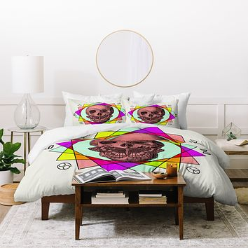 Wesley Bird True Sign Art Duvet Cover