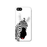 P0883 Hello Zebra Case Cover For IPHONE 5C