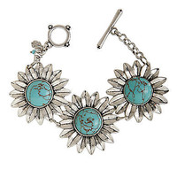 Turquoise Toggle Bracelet | Lord and Taylor