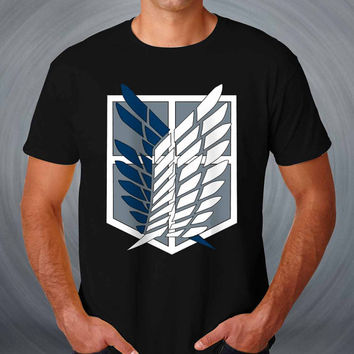 Titan attack T-shirt attack on Titan