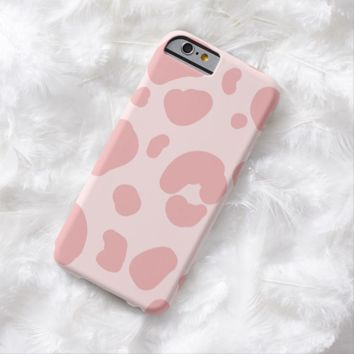 Claire Blossom Sweet leopard print Barely There iPhone 6 Case