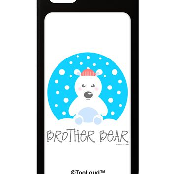Matching Polar Bear Family - Brother Bear iPhone 5 / 5S Grip Case  by TooLoud