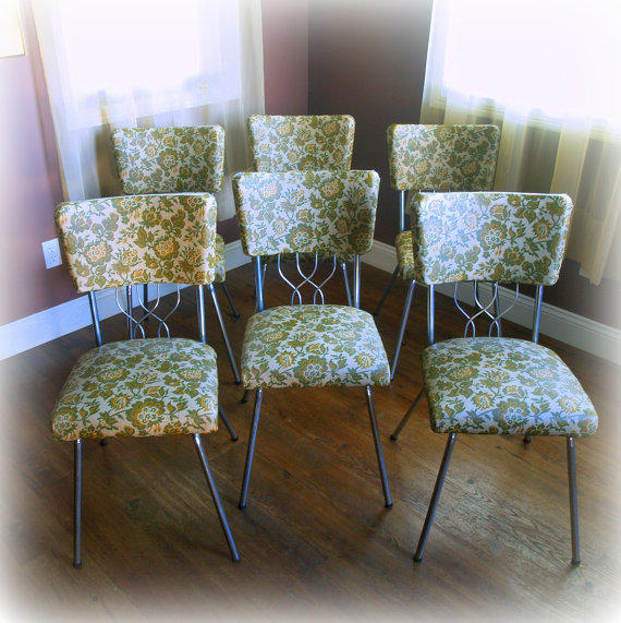 Kitchen Chairs Vintage: 6 RETRO DINING CHAIRS / Super Cool Mid From ACES FINDS VINTAGE