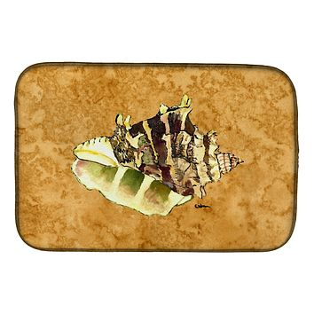 Shell Dish Drying Mat 8658DDM