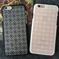 Original Hollow Out iPhone 5s 5se 6 6s Plus Case Best Solid Cover + Gift Box 404