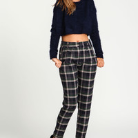 Library Plaid Trousers