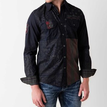 Affliction Black Premium Patriotic Shirt
