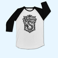 Harry Potter Slytherin House Logo T-Shirt - Gift for friend - Present