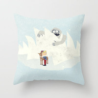 Douse the Light Throw Pillow by Robert Scheribel | Society6