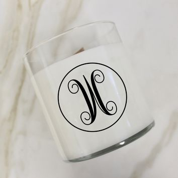 Initial W Candle