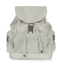 Perforated Backpack - Grey